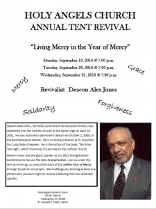 REVIVAL !  Monday*Tuesday*Wednesday, September 19, 20, 21