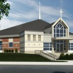 We Plan to Build the New Holy Angels Church in 2018