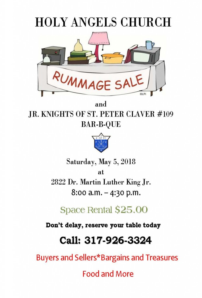 Rummage Sale and Barbecue